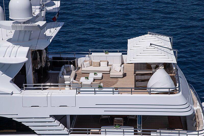 Eleni yacht deck