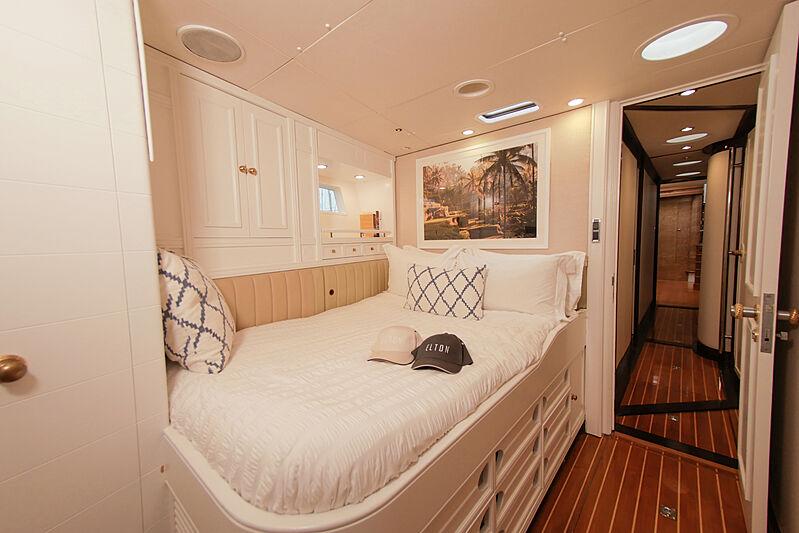 Elton yacht stateroom