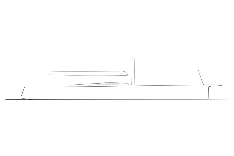 Baltic Yachts 110 Custom yacht rendering