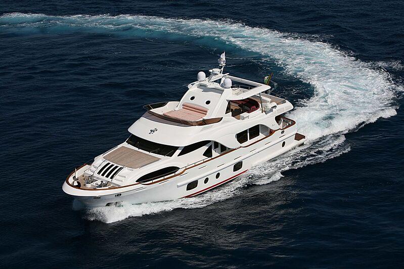 Sofia of Tortola yacht cruising