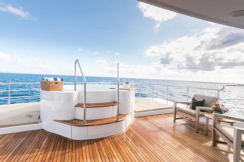 My Aurora yacht deck