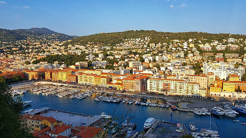 Marina of Nice