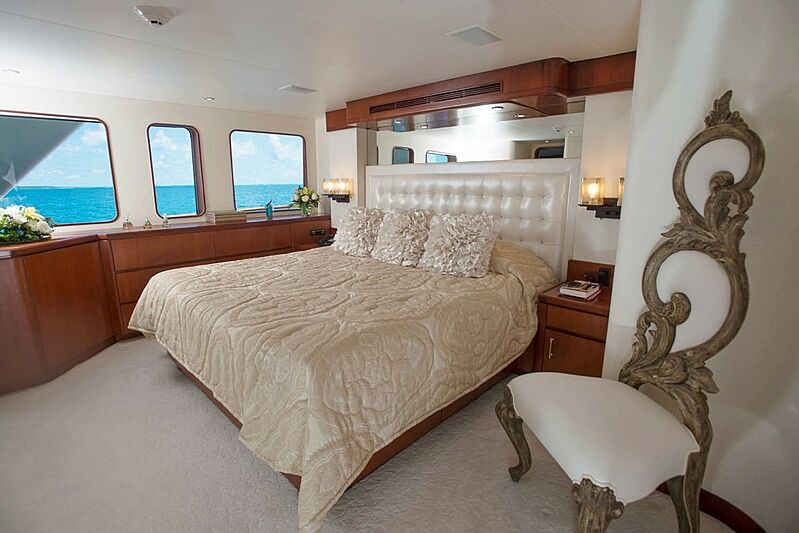 Sunshine yacht stateroom