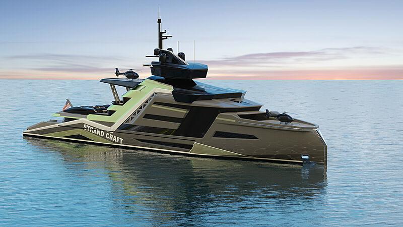 133m design project Miami by Kurt Strand