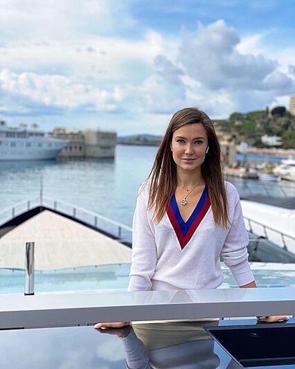 Julia Skoptsova on board Blade