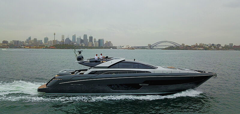 EvenFlow yacht cruising at Sydney