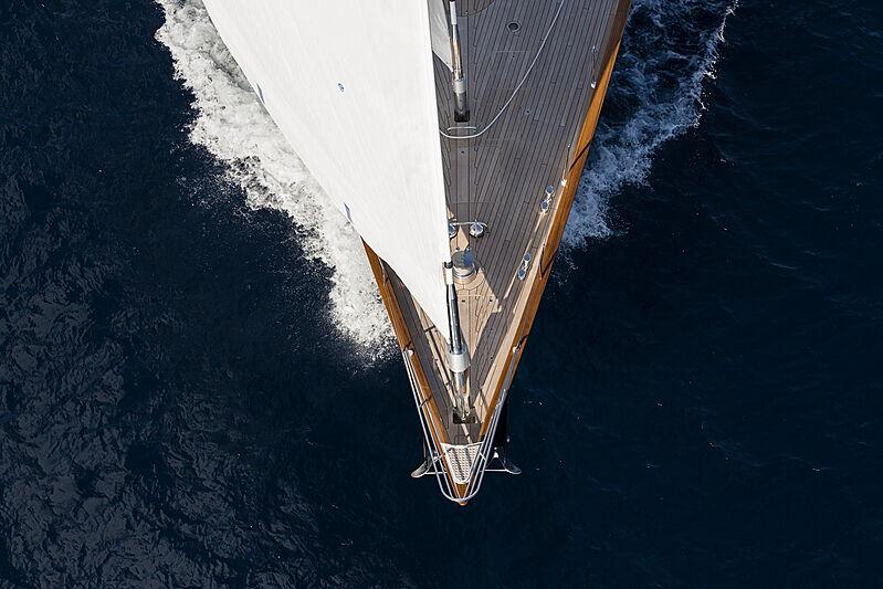 Wisp yacht after refit