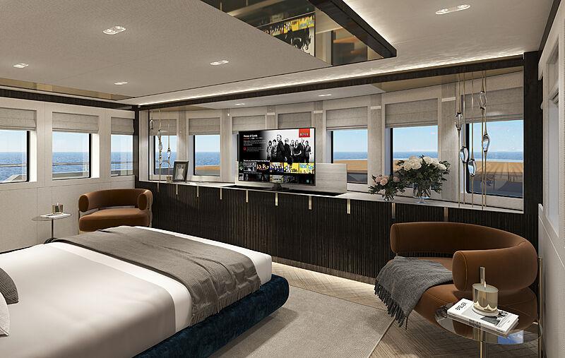 Project Phoenix yacht interior design