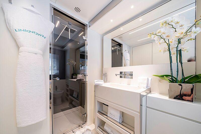 Unknown yacht bathroom