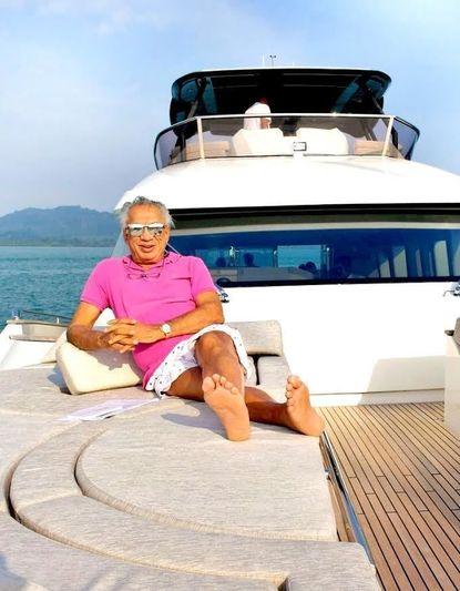 Mr Gulu on board MCY