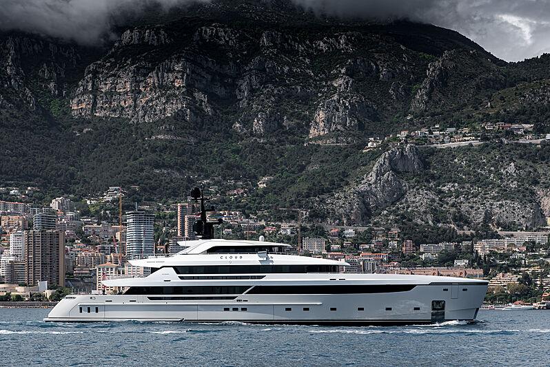 Cloud 9 yacht by Sanlorenzo in Monaco