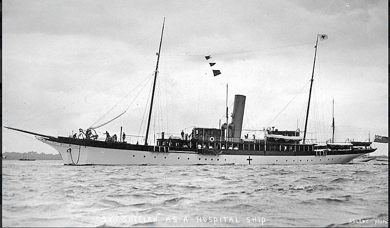 Sheelah yacht anchored