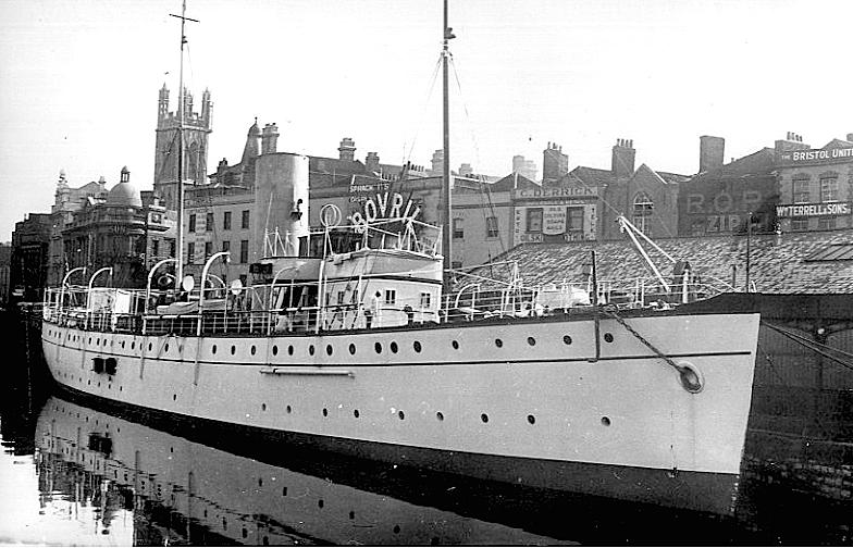 Thalassa yacht in port