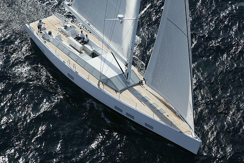 Polytropon II yacht sailing