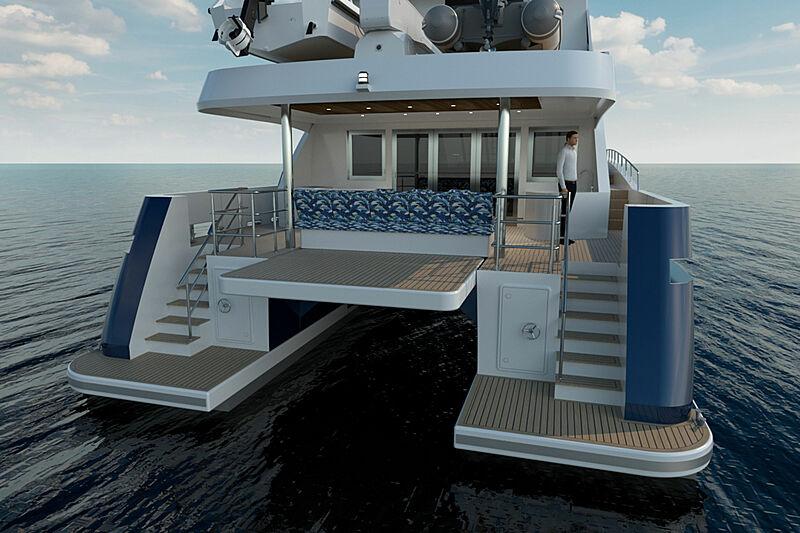 24 m Project Elysium exterior design