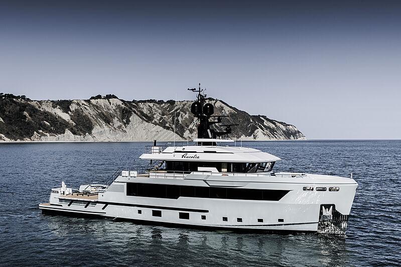 Aurelia yacht anchored