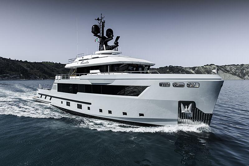 Aurelia yacht cruising