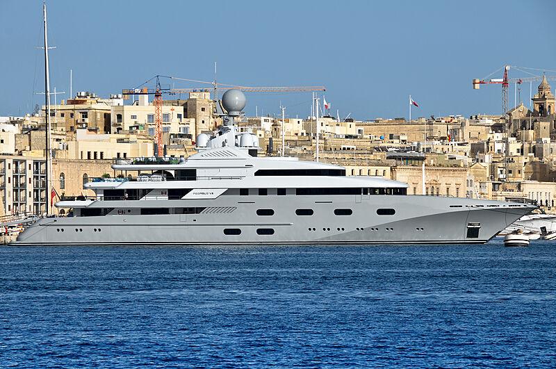 Pegasus VIII yacht in Malta