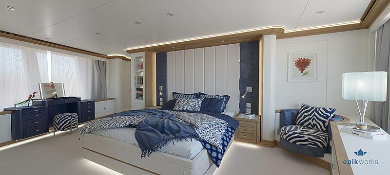 Seven Seas yacht interior design