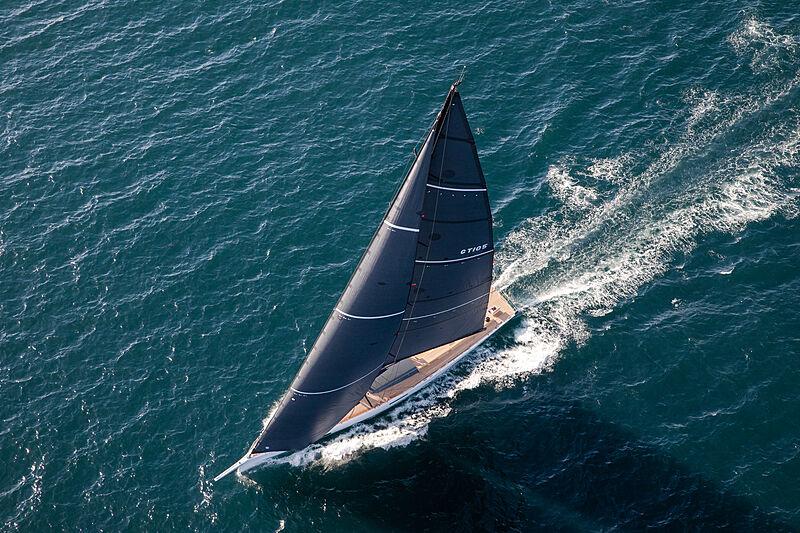 Taniwha yacht sailing