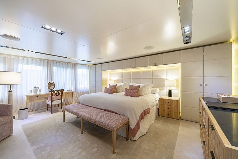 Icon yacht stateroom