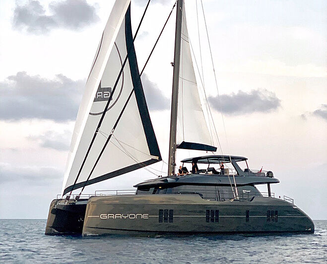 Grayone yacht sailing