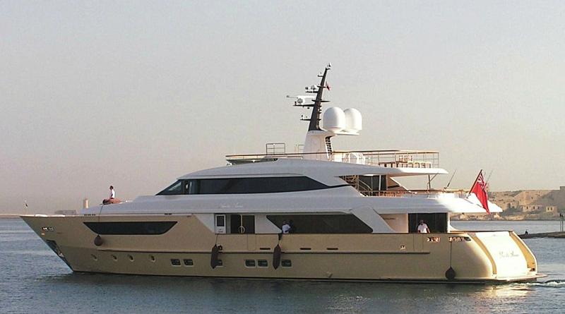 Santa Anna B yacht cruising