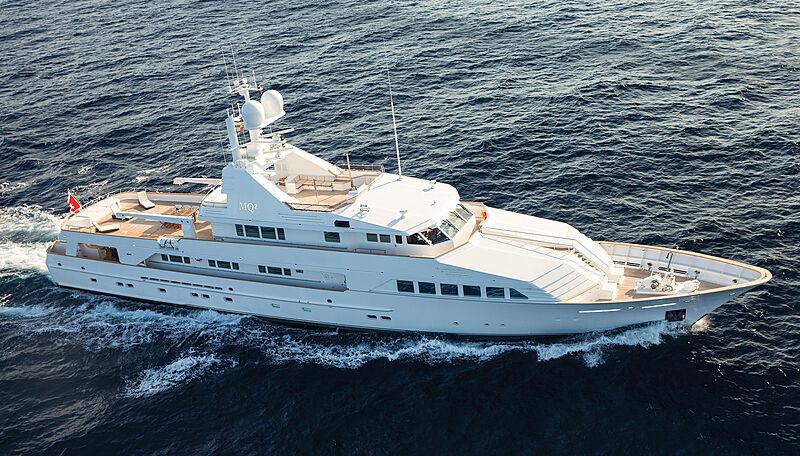 MQ2 yacht cruising
