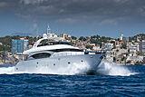 Stravaganza yacht cruising