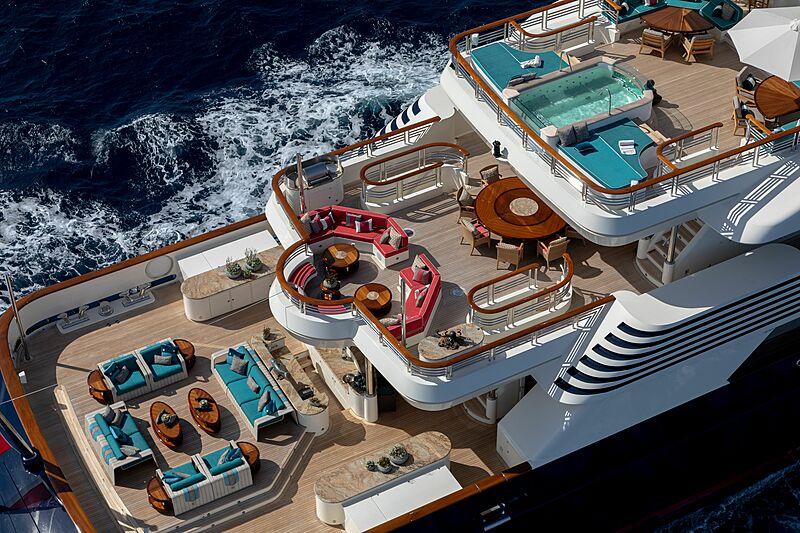 Cocoa Bean yacht decks