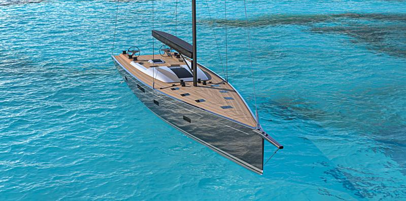 Nyumba yacht exterior design