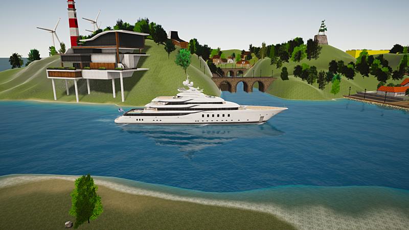 Madsummer yacht exterior design