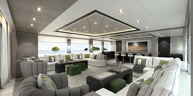 Majesty 175 yacht interior