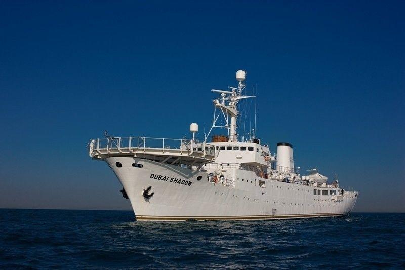 DUBAI SHADOW yacht Mitsubishi Heavy Industries Ltd.