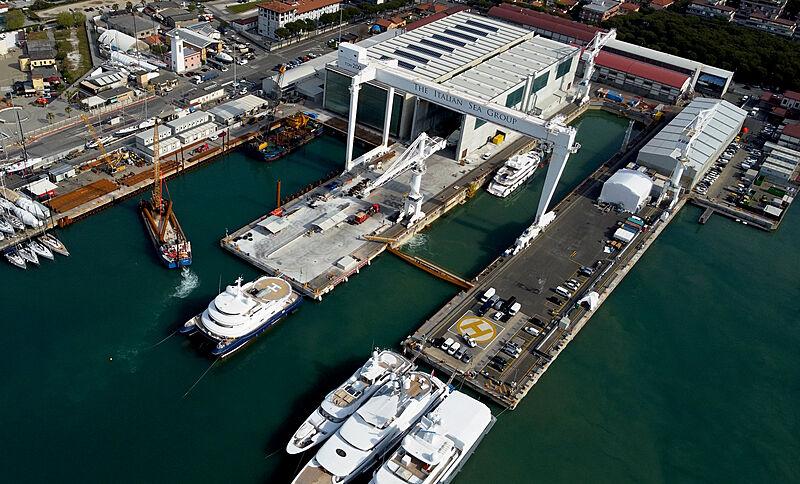 NCA Refit new dry dock