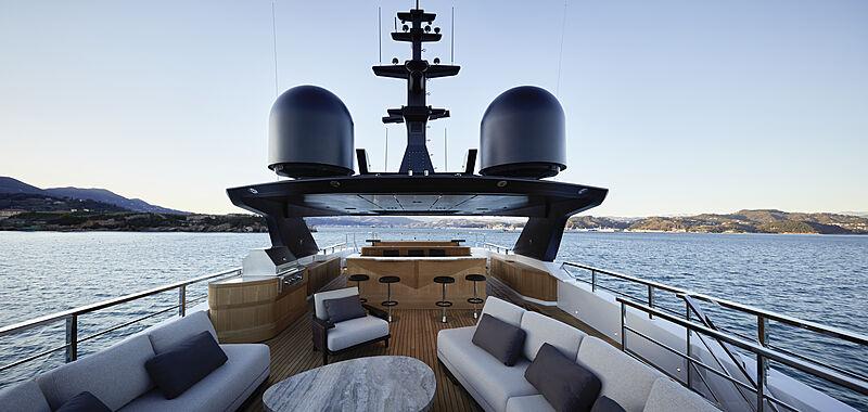 Annabella yacht sundeck