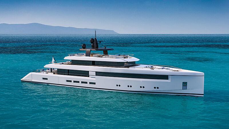 Nauta 54m Wide concept exterior design