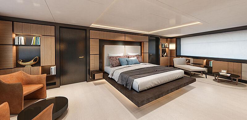Nauta 54m Wide concept interior design