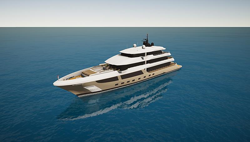 Majesty 175 by Gulf Craft in SYT 3D