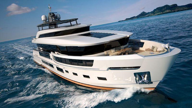 Heysea Atlantic 115 rendering