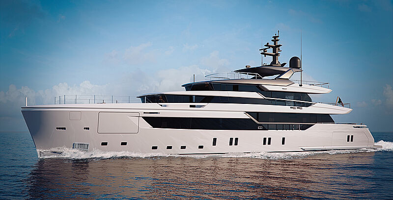 Sanlorenzo Alloy yacht exterior rendering