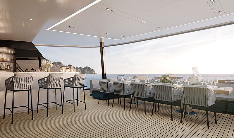 Sunreef 100 yacht interior design