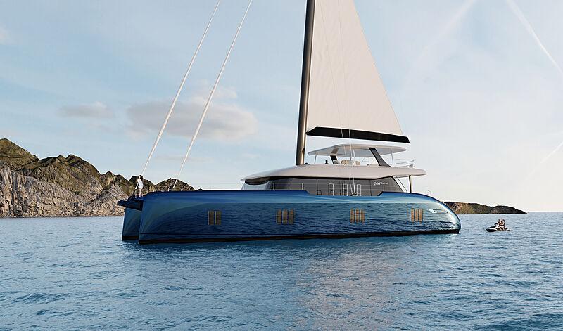 Sunreef 100 yacht exterior design
