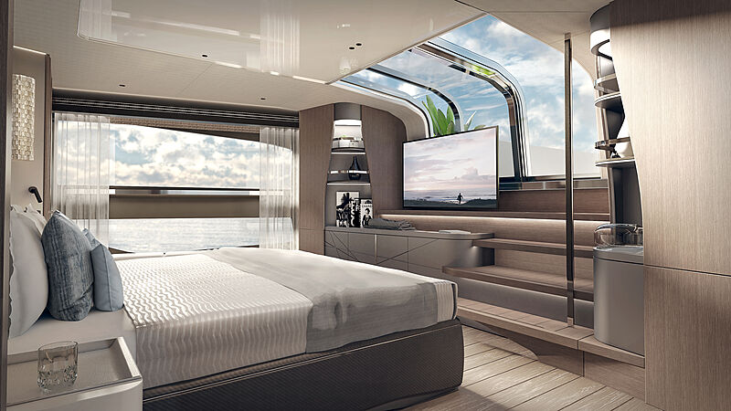 Sunseeker 100 yacht interior design