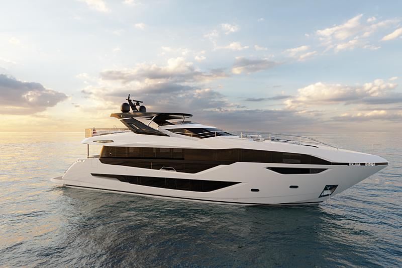Sunseeker 100 yacht exterior design