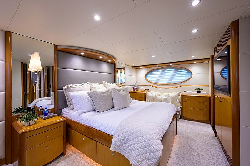 Living the Dream yacht stateroom