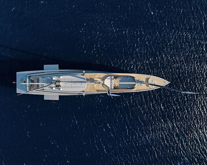 Sailing Yacht A in Antibes