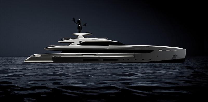 Olokun yacht exterior render