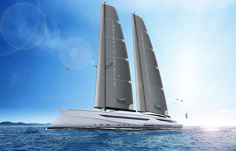 Vento yacht exterior design