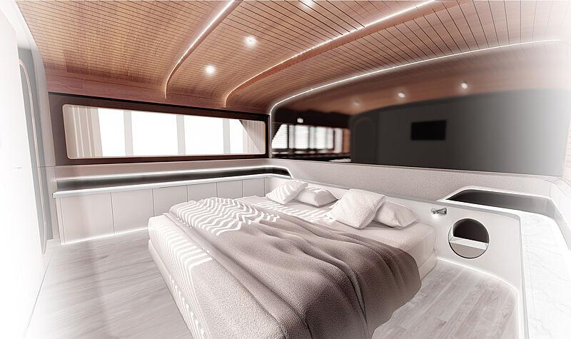 Mazal yacht refit by VZ Yachts